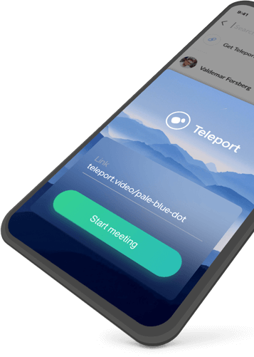 Teleport App Preview
